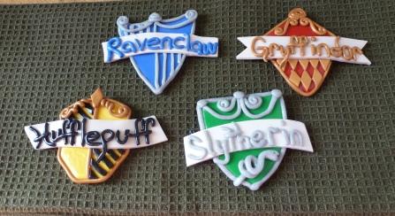 Hogwarts House Crests Set of 4 Magnets