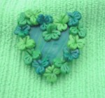 Heart of Clovers Pin